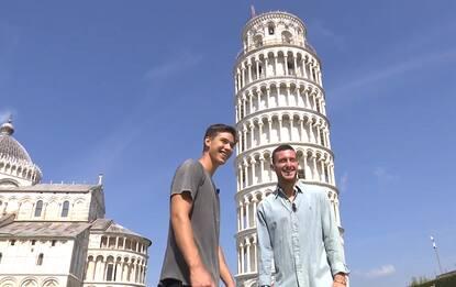 Alla scoperta di Pisa con due figli d'arte