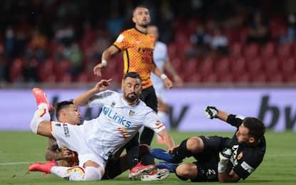 Il Lecce non riesce a vincere: 0-0 a Benevento