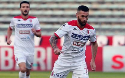 Paganese-Bari 0-1, decide Antenucci