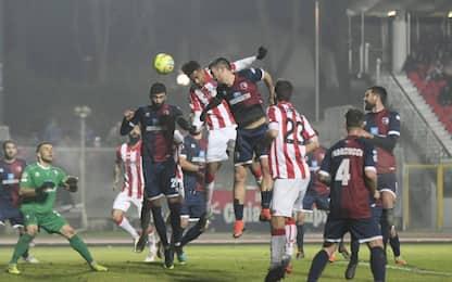 Serie C, i risultati della 19^  giornata