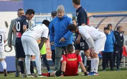 Arbitro ko, a Virtus Verona-Gubbio mancano... 10'!