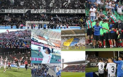Serie C, boom spettatori: la top 5 dei tre gironi