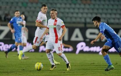 Pari Monza, Vicenza e Bari: i risultati di Serie C