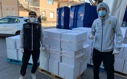 Ternana per i bisognosi: donati beni di necessità