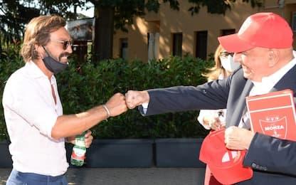 Pirlo da Brocchi e Galliani per Monza-Juve U19