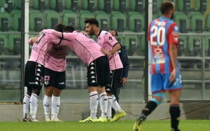 Palermo, impresa sfiorata: 1-1 con il Catania
