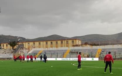 "Furto al ""Pinto"", ma Casertana-Catania si gioca"
