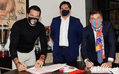 Catania a Tacopina: firmato contratto preliminare