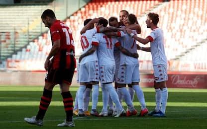 Avanti Bari e Palermo. Matelica, 2-3 al 98'