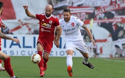 Padova-Alessandria, il primo round finisce 0-0