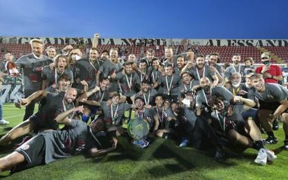 Alessandria in Serie B, Padova ko ai rigori