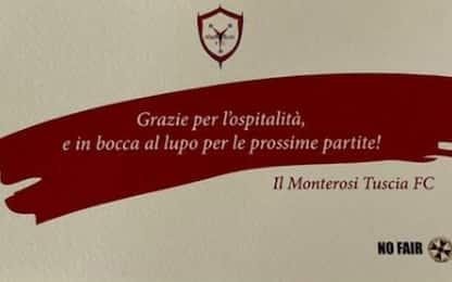 Fair play Monterosi: pulito spogliatoio dopo ko