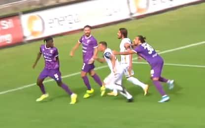 Gol restituito in Campobasso-Fidelis Andria. VIDEO