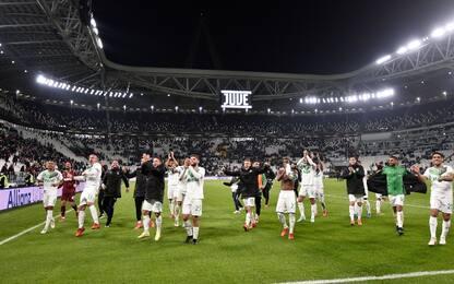 Le 16 squadre che hanno vinto allo Stadium