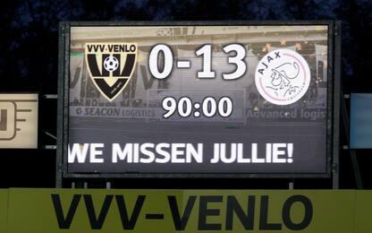 Non solo Venlo-Ajax, le goleade record dal 2000
