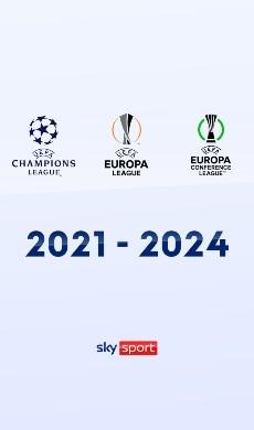 Il grande calcio delle coppe europee su Sky