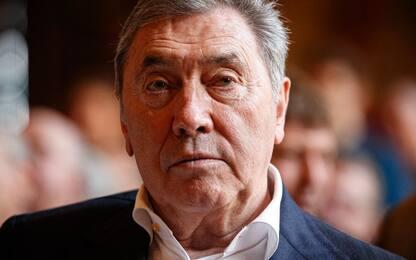 Merckx cade in bici: ricoverato per trauma cranico