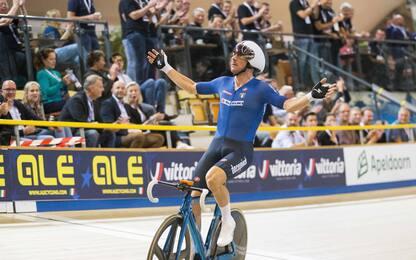 Europei su pista, Elia Viviani medaglia d'oro