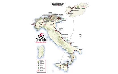 Giro 2020, profili e altimetrie delle tappe. FOTO