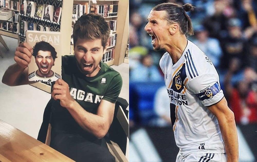 Peter Sagan e Zlatan Ibrahimovic