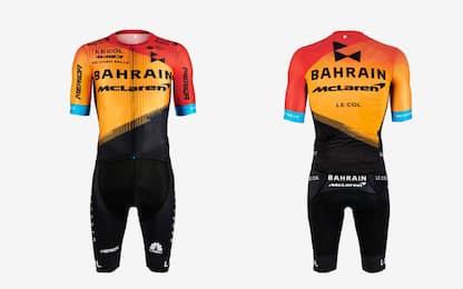 Ciclismo o F1? Ecco la nuova Bahrain McLaren. FOTO