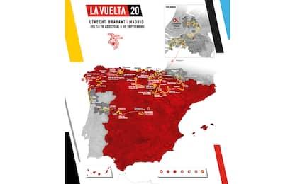 Ecco la Vuelta 2020: tappe e calendario