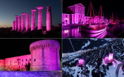 Giro 2020, l'Italia s'illumina di rosa. FOTO