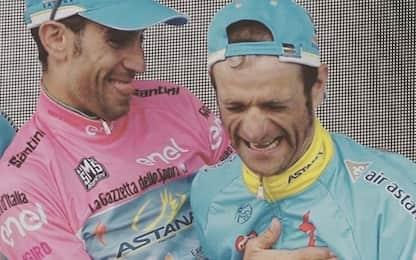 """Nibali ricorda Scarponi: """"Sempre nel mio cuore"""""""