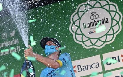 Giro di Lombardia: vince Fuglsang, 6° Nibali
