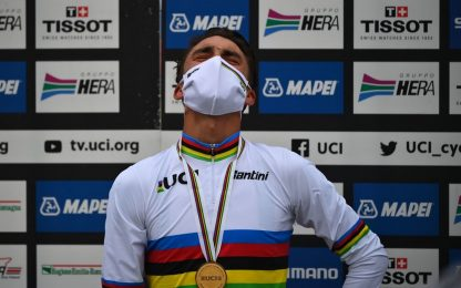 Mondiali ciclismo, vince Julian Alaphilippe
