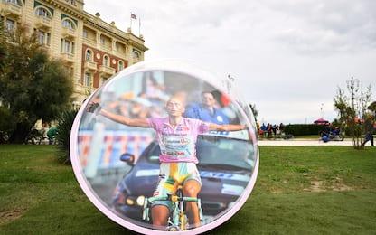 Giro a Cesenatico, due biglie giganti per Pantani