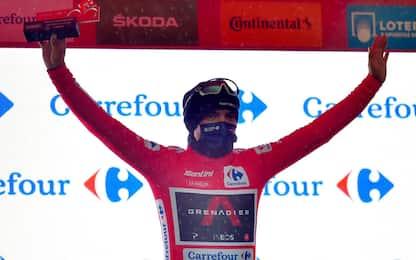 Vuelta: vince Izagirre, Carapaz nuova maglia rossa