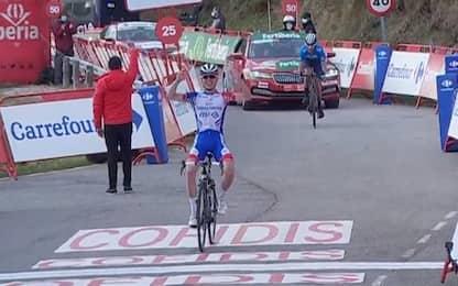 Gaudu vince l'11^ tappa, Roglic resta in rosso