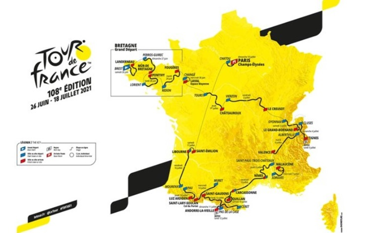 Teams Tour De France 2021