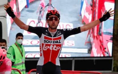 Wellens vince la 14^ tappa, Roglic resta in rosso