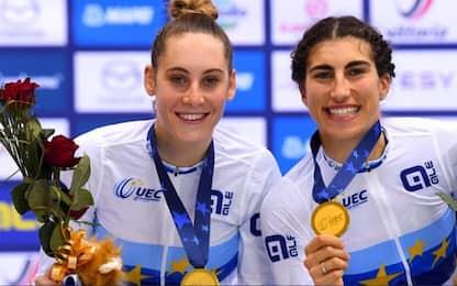 Ciclismo su pista: un oro e 3 bronzi per l'Italia