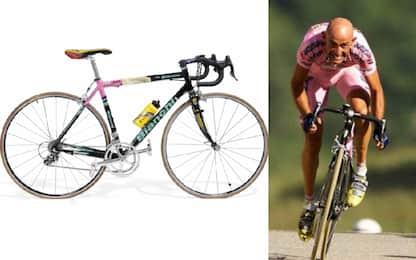 """""""Battute"""" a 100mila euro due bici di Pantani"""