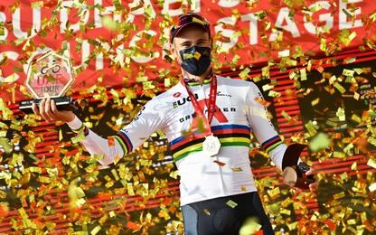Uae Tour, vittoria di Filippo Ganna nella crono