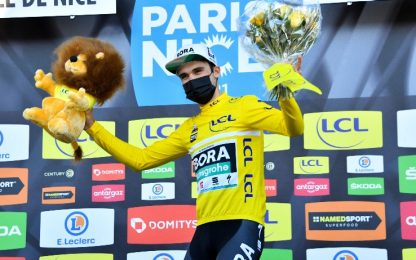 Roglic beffato, Schachmann vince la Parigi-Nizza