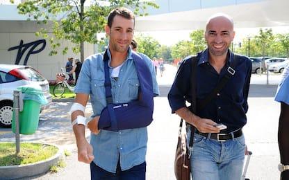 Nibali, gli infortuni della sua carriera