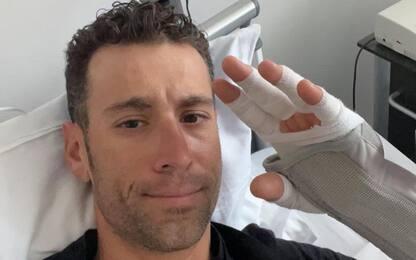 Nibali, frattura al radio in allenamento