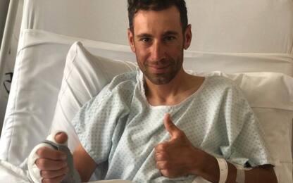 """Nibali operato: """"Spero di farcela per il Giro"""""""