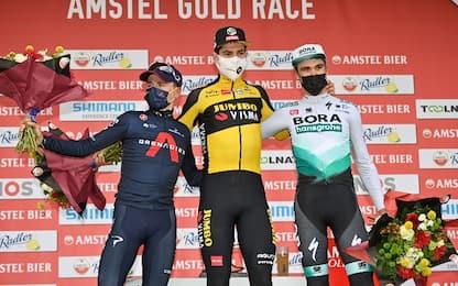 Van Aert vince al fotofinish la Amstel Gold Race