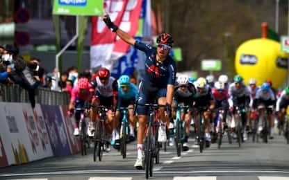 Tour of the Alps, Moscon vince la 1^ tappa