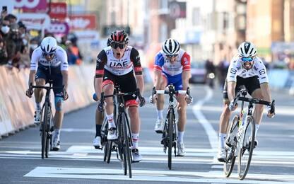 Liegi: Pogacar vince allo sprint, 2° Alaphilippe