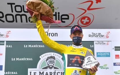 Giro Romandia: Dennis vince cronoprologo, 9° Ganna