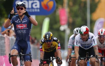 Merlier vince a Novara, Ganna resta in rosa