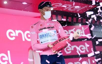 Dombrowski vince la 4^ tappa, De Marchi in rosa