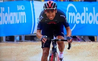 Giro, tappa e maglia per Bernal. 2° Ciccone