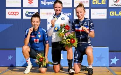 Ciabocco argento nella gara femminile Juniores